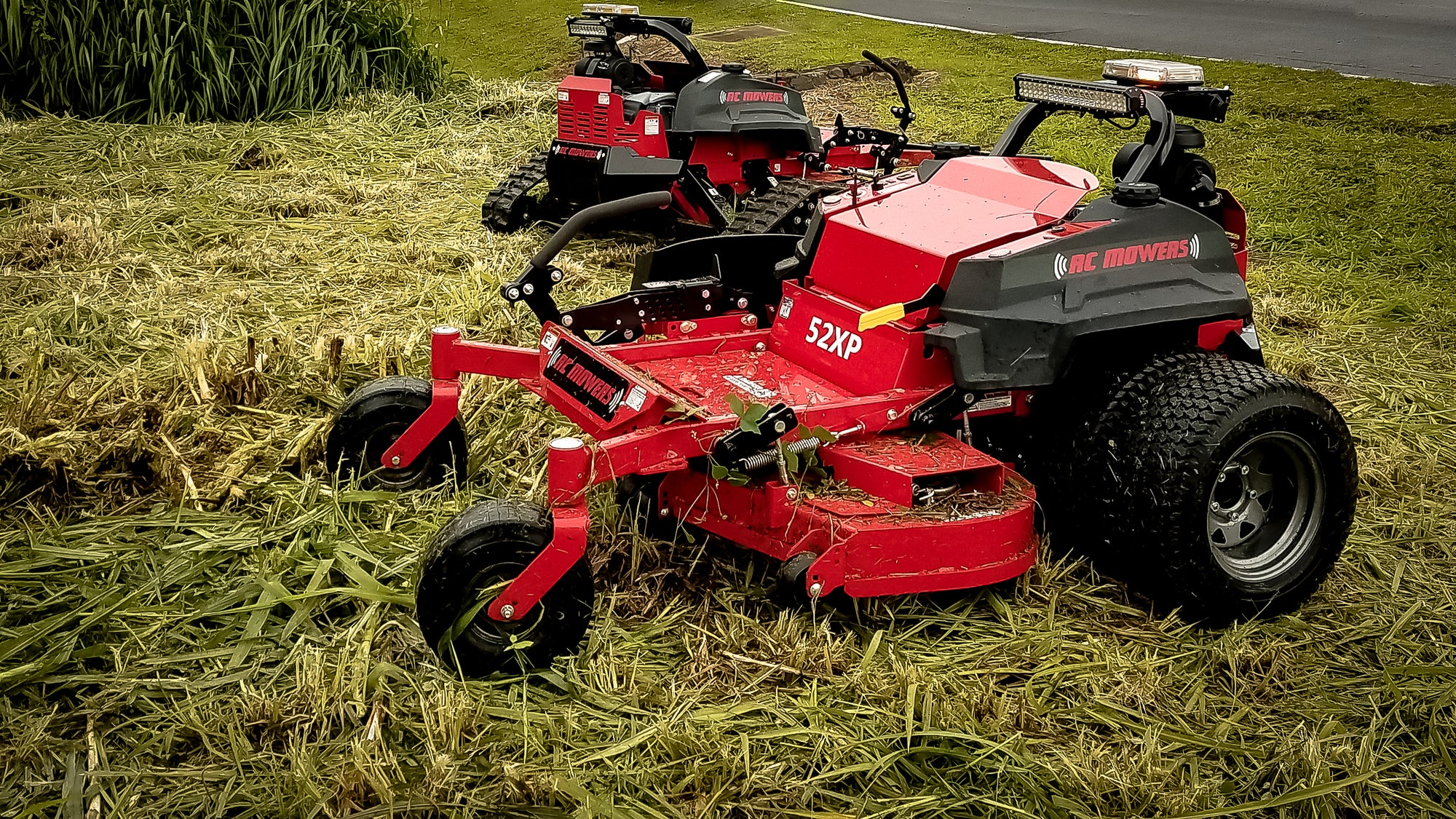 steep bank mowers