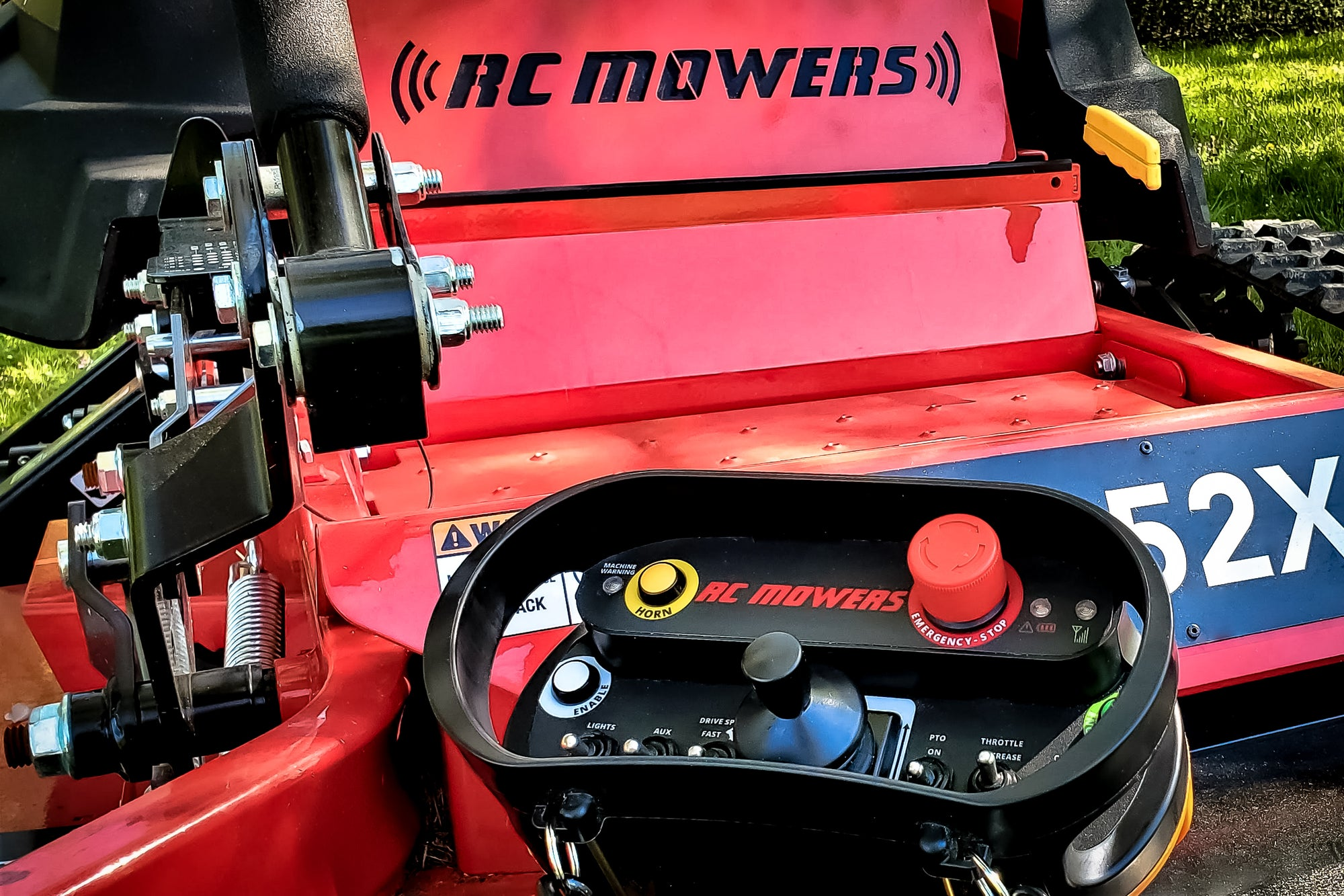 remote control mowers for slopes