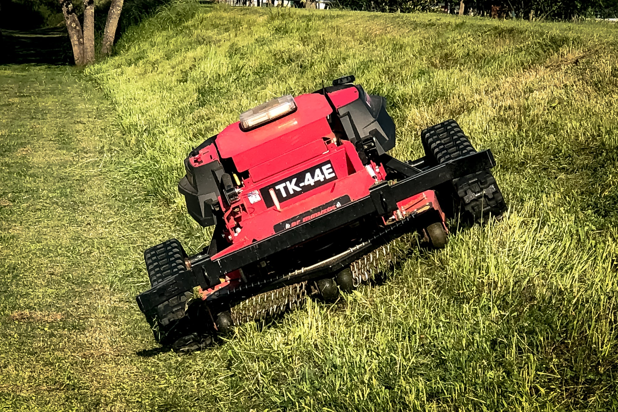 rc mowers tk-44e remote control slope mower