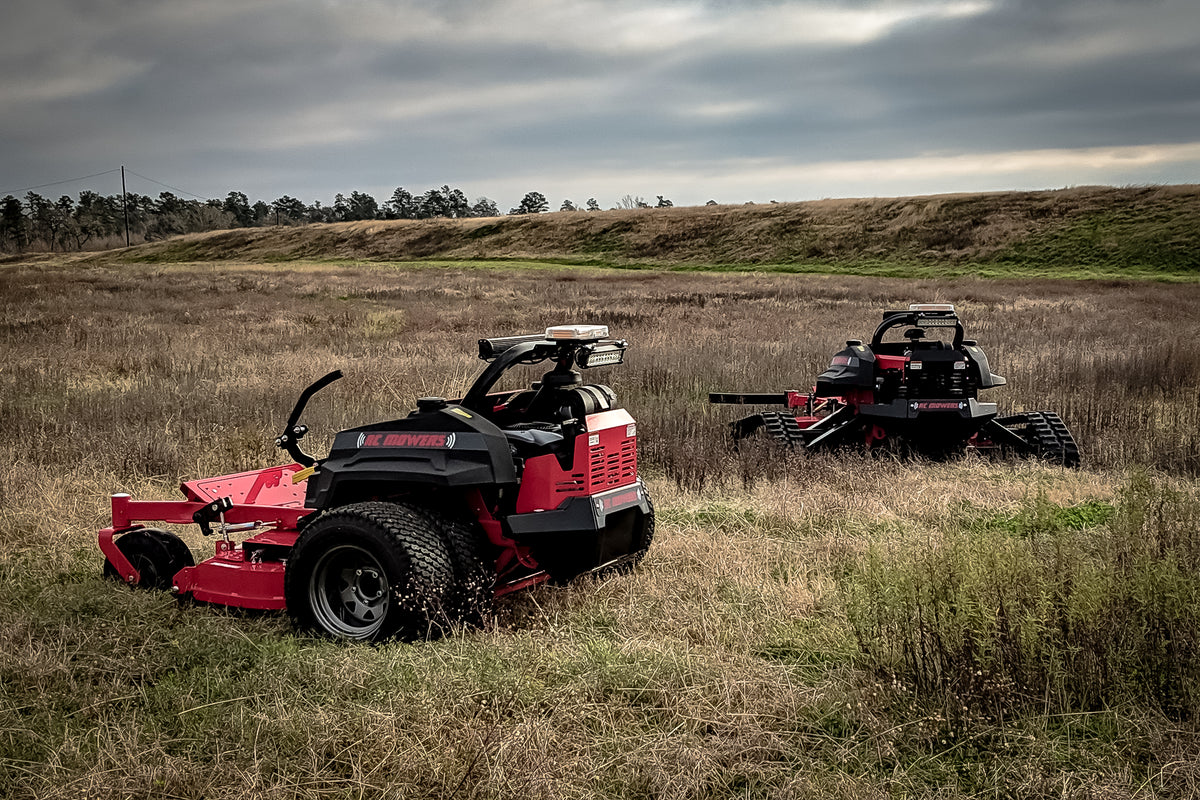 remote controlled mowers