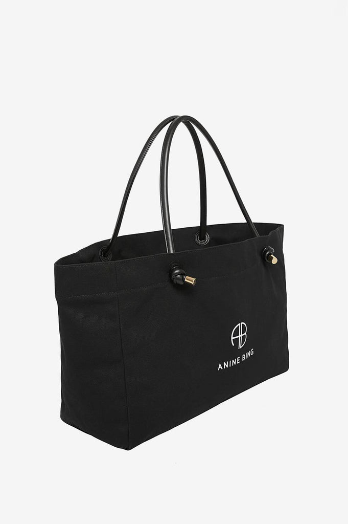 Saffron Tote Black Medium