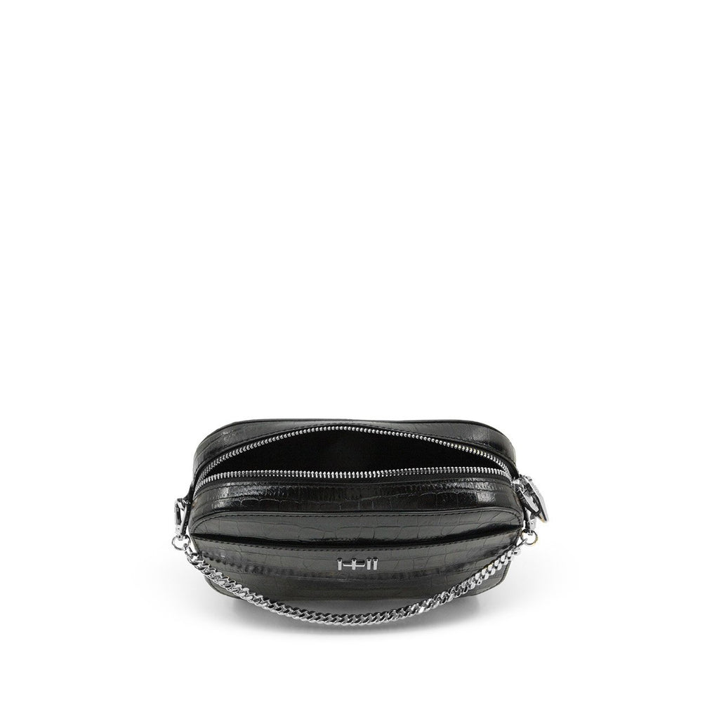 The Mini Rodriguez Croc Bag Silver