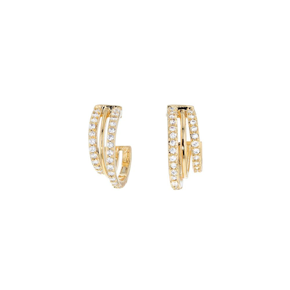 Natalia Earrings Gold