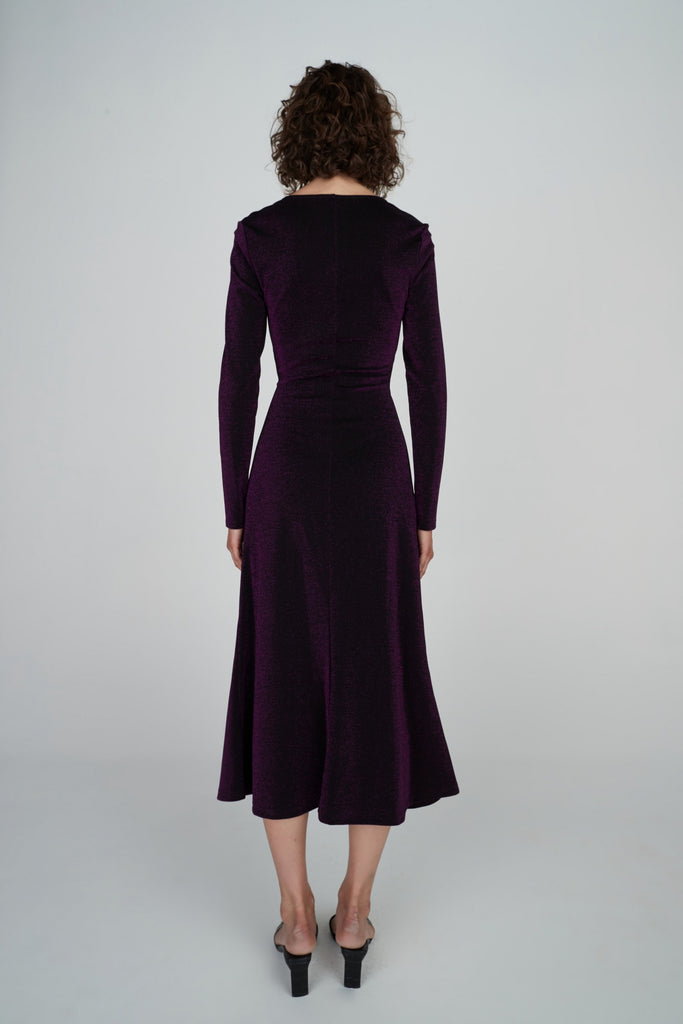 Guiliana Dress Ultraviolet
