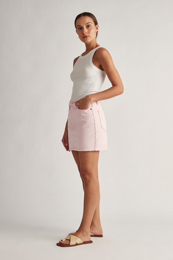 Frieda Skirt Ice Pink