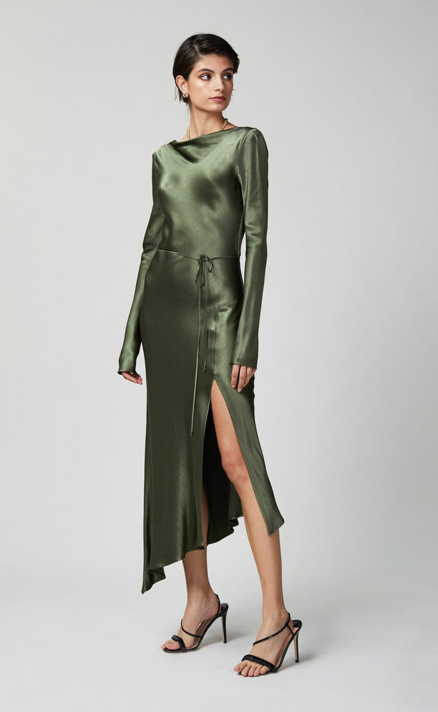 Delphine Long Sleeve Midi Dress