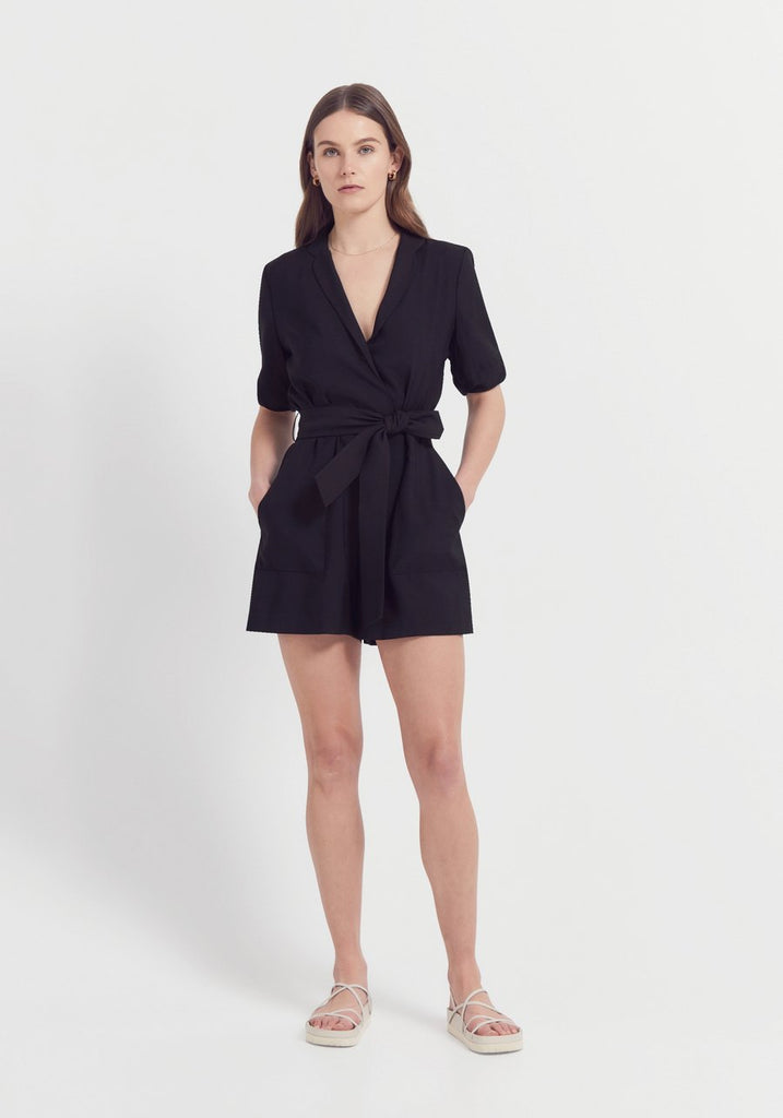 Cavalier Playsuit Black