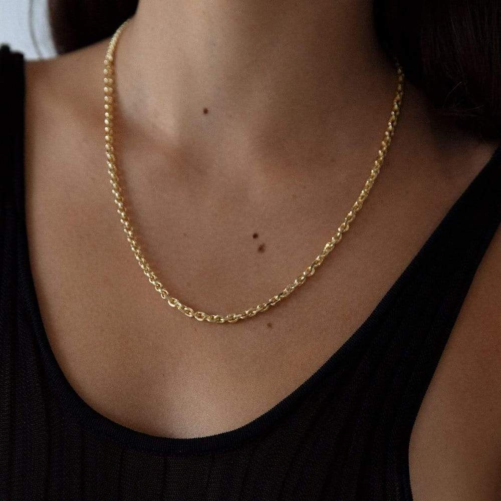 Three Way Necklace 18k Gold