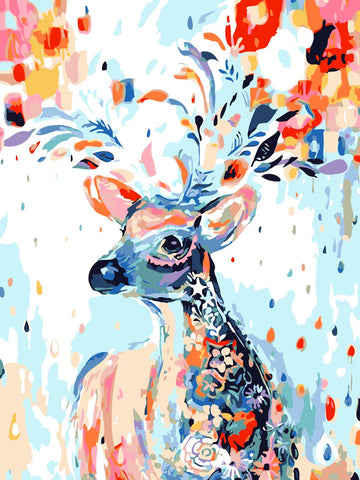 Artherapy Paint By Numbers Deer