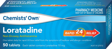 Load image into Gallery viewer, 100 x Loratadine Tablets Chemists' Own 10mg Loratadine