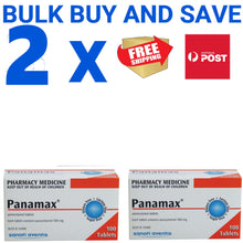 Load image into Gallery viewer, 200 x Panamax 500mg Paracetamol Tablets - Fever & Pain (Generic Panadol)