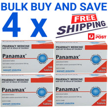 Load image into Gallery viewer, 400 x Panamax 500mg Paracetamol Tablets - Fever & Pain (Generic Panadol)