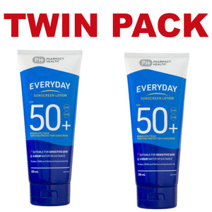 2 x 200ml - Pharmacy Health Sunscreen Lotion SPF 50+