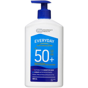 500ml Pharmacy Health Sunscreen Lotion SPF 50+