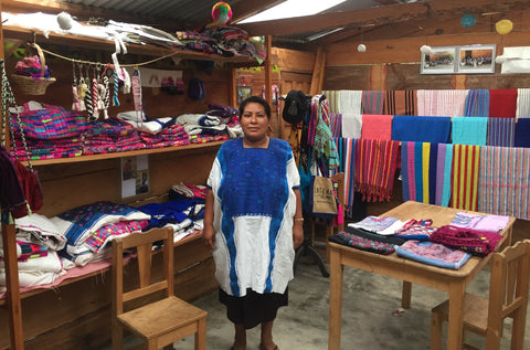 Juana Victoria Hernández Gomez is one of our artisan partners