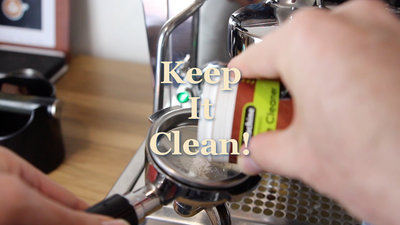 Cleaning your Machine for Better Coffee - 6 Week Home Barista Bootcamp Episode 5