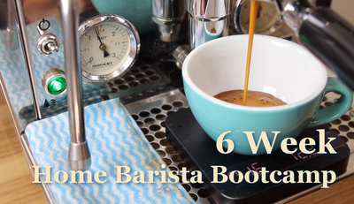 6-Week Home Barista Bootcamp - Week One - An Introduction to good coffee at home.
