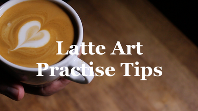 Latte Art Practise Tips - (and empty hearts!)
