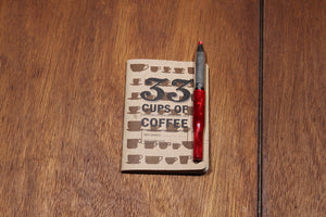 33 Cups of Coffee | Pocket Cupping Journal