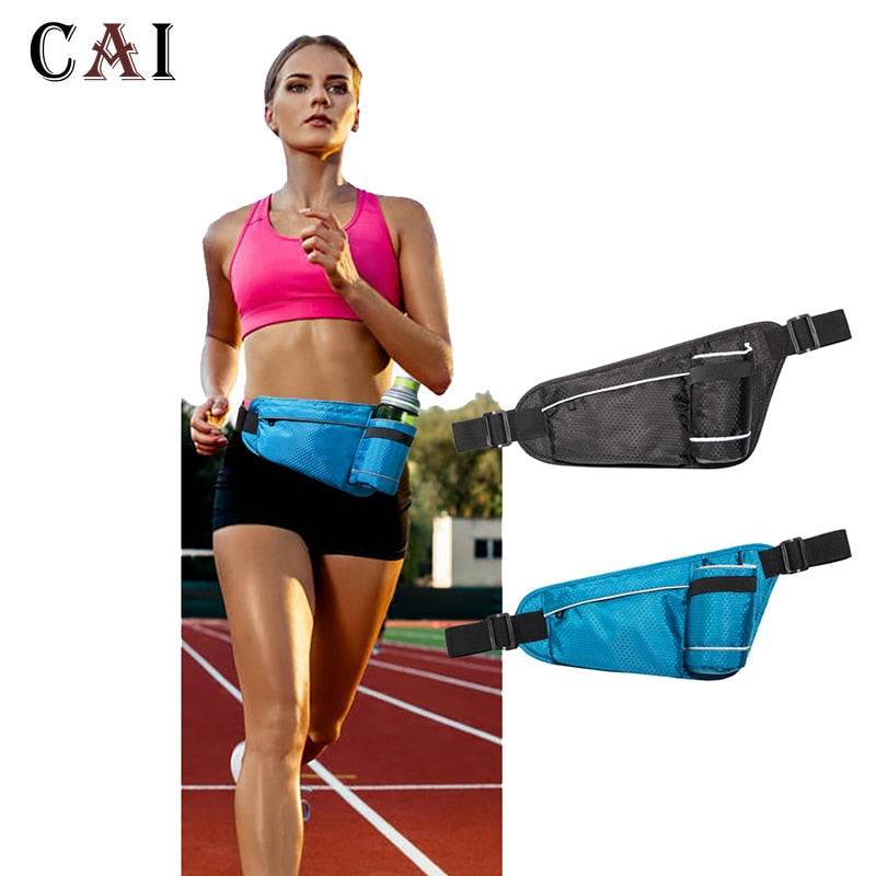 Running Belt Fanny Pack | Water Bottle Holder iPhone X/XS Max/XR Cycling Runner Jogging