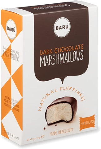 Baru Belgian Dark Chocolate Marshmallows