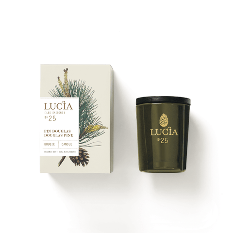 Holiday scent candle