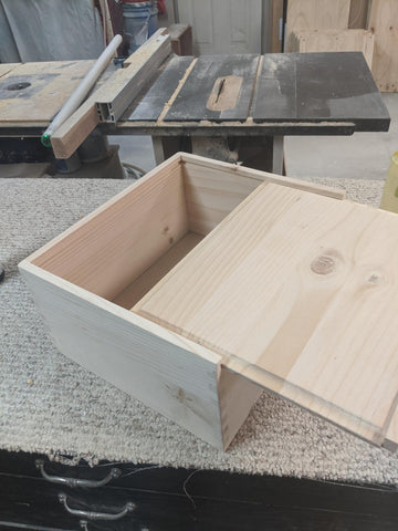 TCS wooden crate
