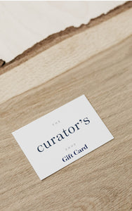 The Curator's Shop Gift Card