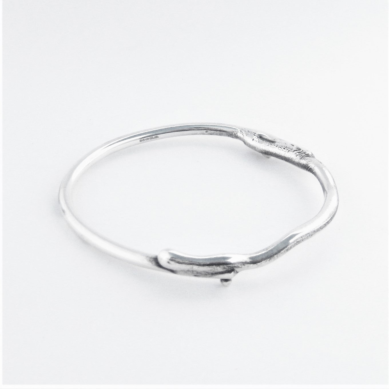 Melt and ball Bangle