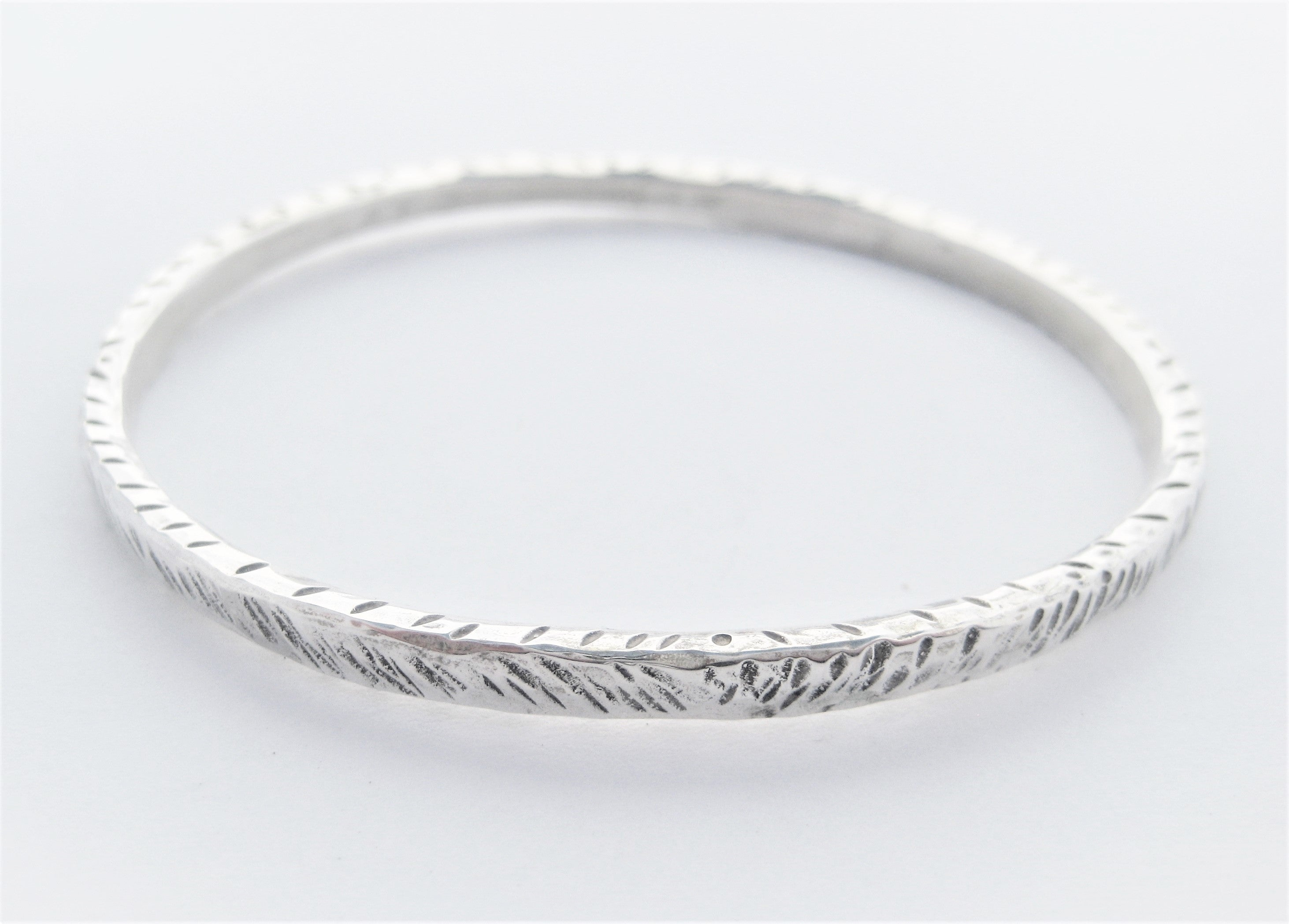 Zebra textured Bangle