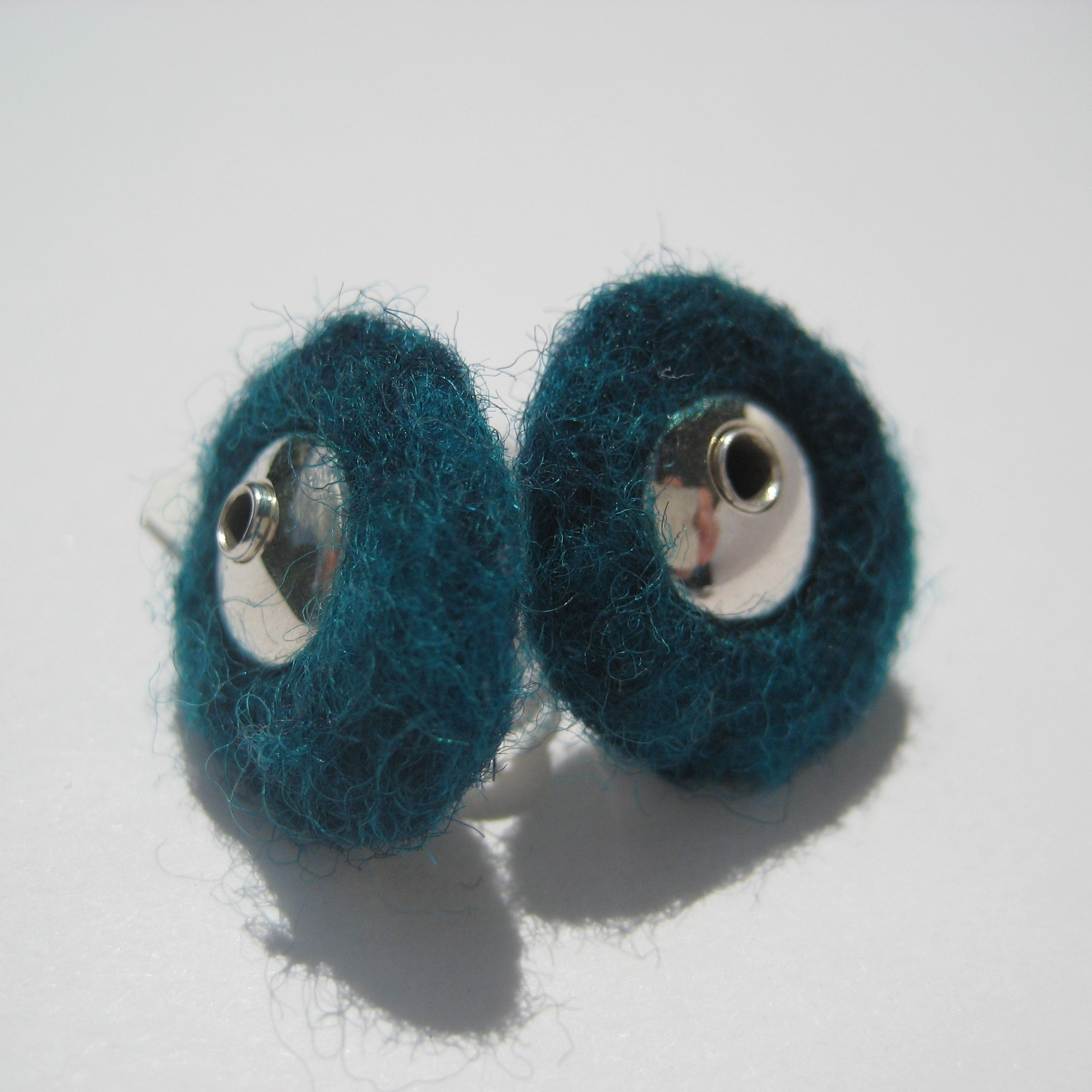 Felt Noggle Earrings