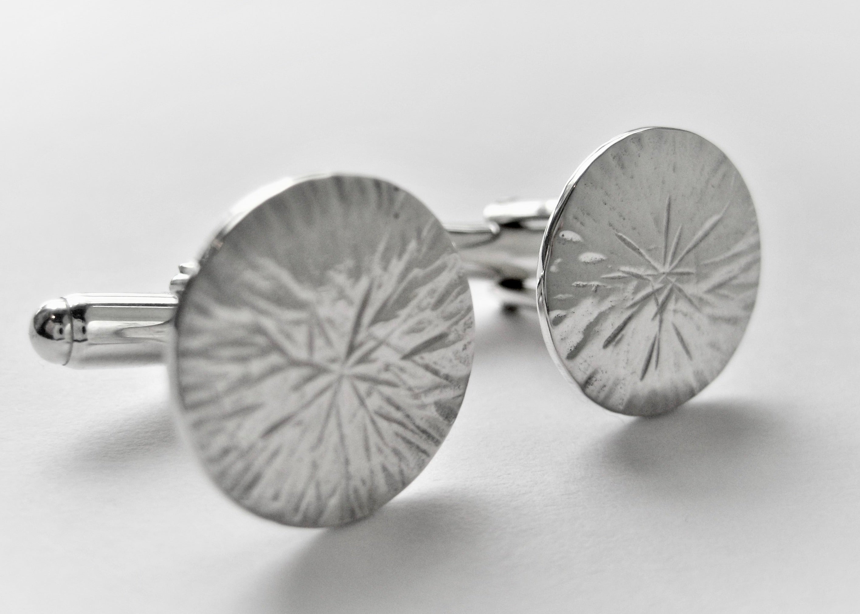 Starry Textured Cuff Links