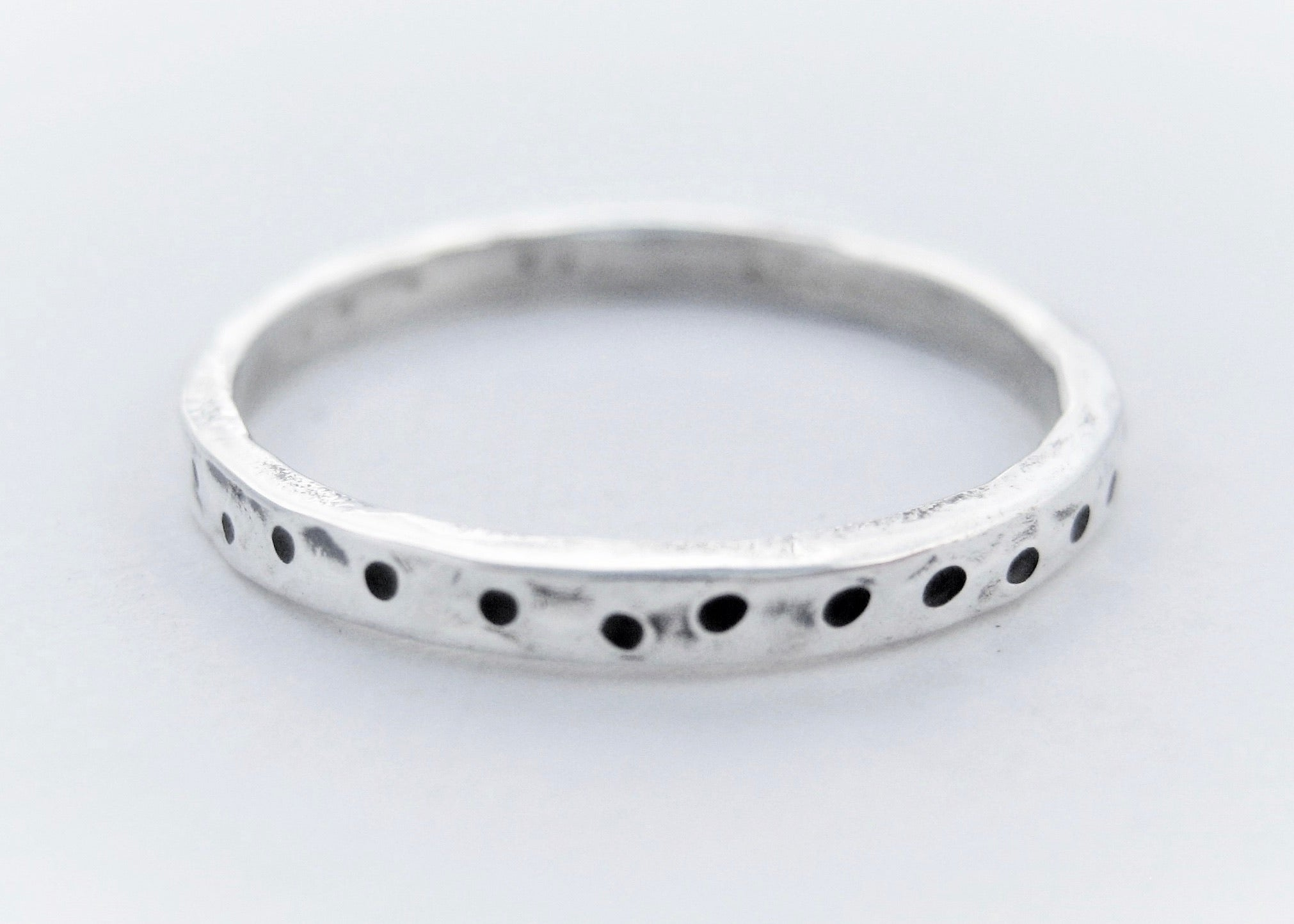 Dots Stamped Ring