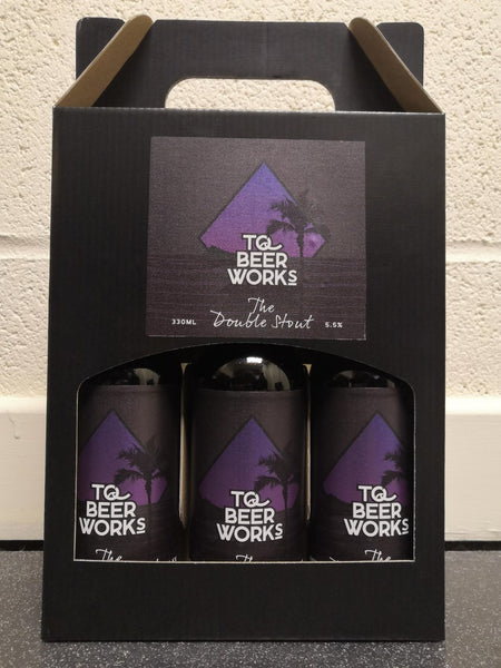 Gift Pack - 3 x The Double Stout 5.5% (330ml)