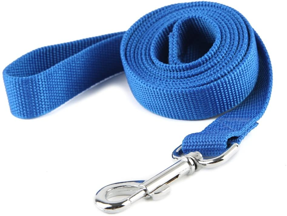 zzyysd Rope Dog Traction Rope-6 Feet Reflective Dog Traction Rope-Mountain Climbing Nylon Braided Heavy Dog Training Traction Rope Suitable for Large And Medium-Sized Dogs walking-6ft 1//3/_Pink