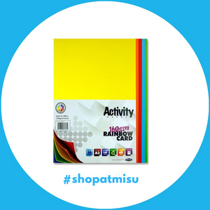 Activity A3 Rainbow Card