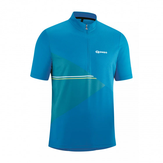 Gonso Fietsshirt Ripo Heren Loose-Fit Polyester