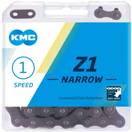 Kmc Ketting Z1 Smal 1/2 X 3/32 Inch 112S Single Speed