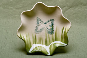 Bowl, Fluted, Butterfly