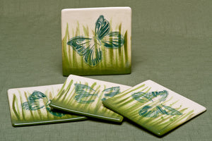 Coaster Set, Butterfly