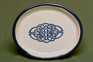 Plate, Oval, Celtic