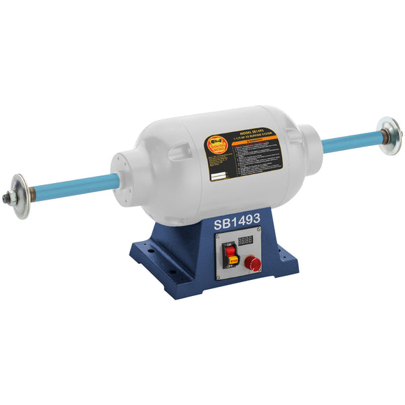 The 1-1/2 HP Variable-Speed Buffing System