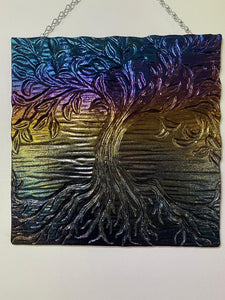 Large Tree of Life Wall or Window Hanging