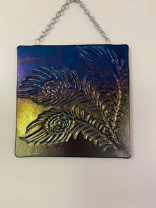 Feather Window or Wall Hanging