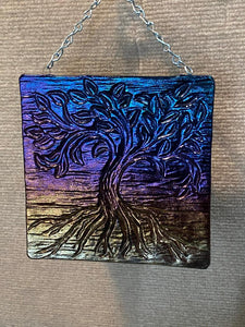 Tree Window or Wall Hanging 6.5 inch