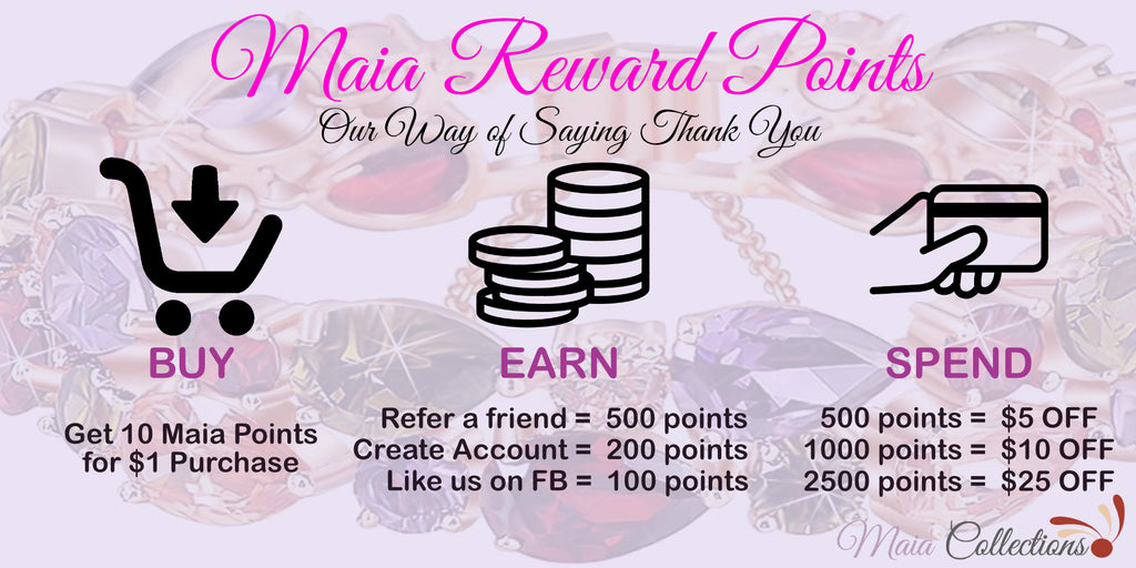 Maia Rewards Point