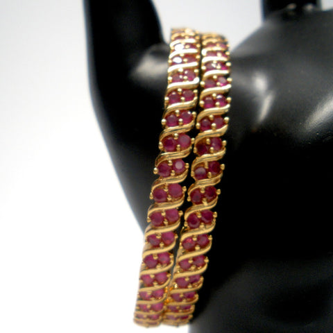 traditional ruby bangles