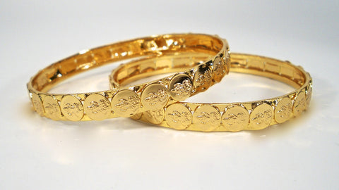 traditional coin bangles