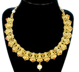 lakshmi idol necklace set