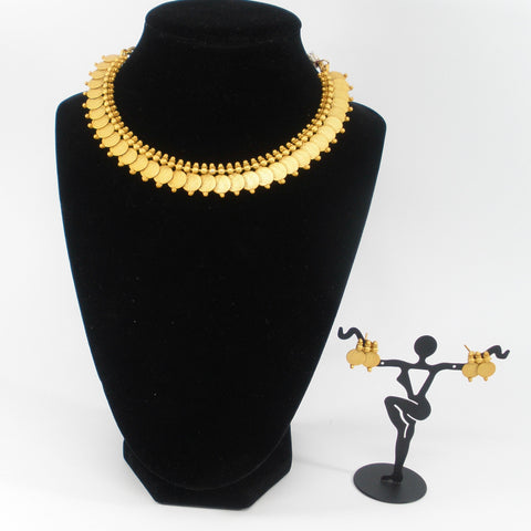 traditional coin necklace set for kids